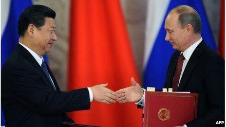 Xi -- Putin